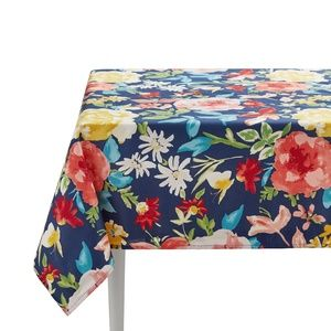 The Pioneer Woman Fiona Floral Tablecloth 60 x 102